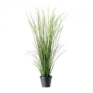 Искусственное растение в горшке трава 105 см