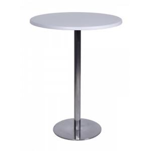 Стол барный d 80 cm, сталь