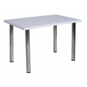 Стол белый 120х70