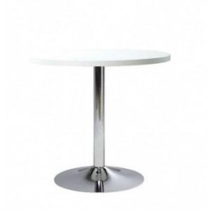 Стол круглый белый d 80 или 90 см