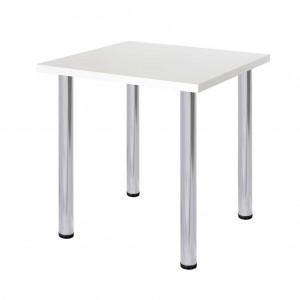 Стол белый 70х70